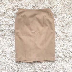 Halogen Tan Pencil Skirt EUC